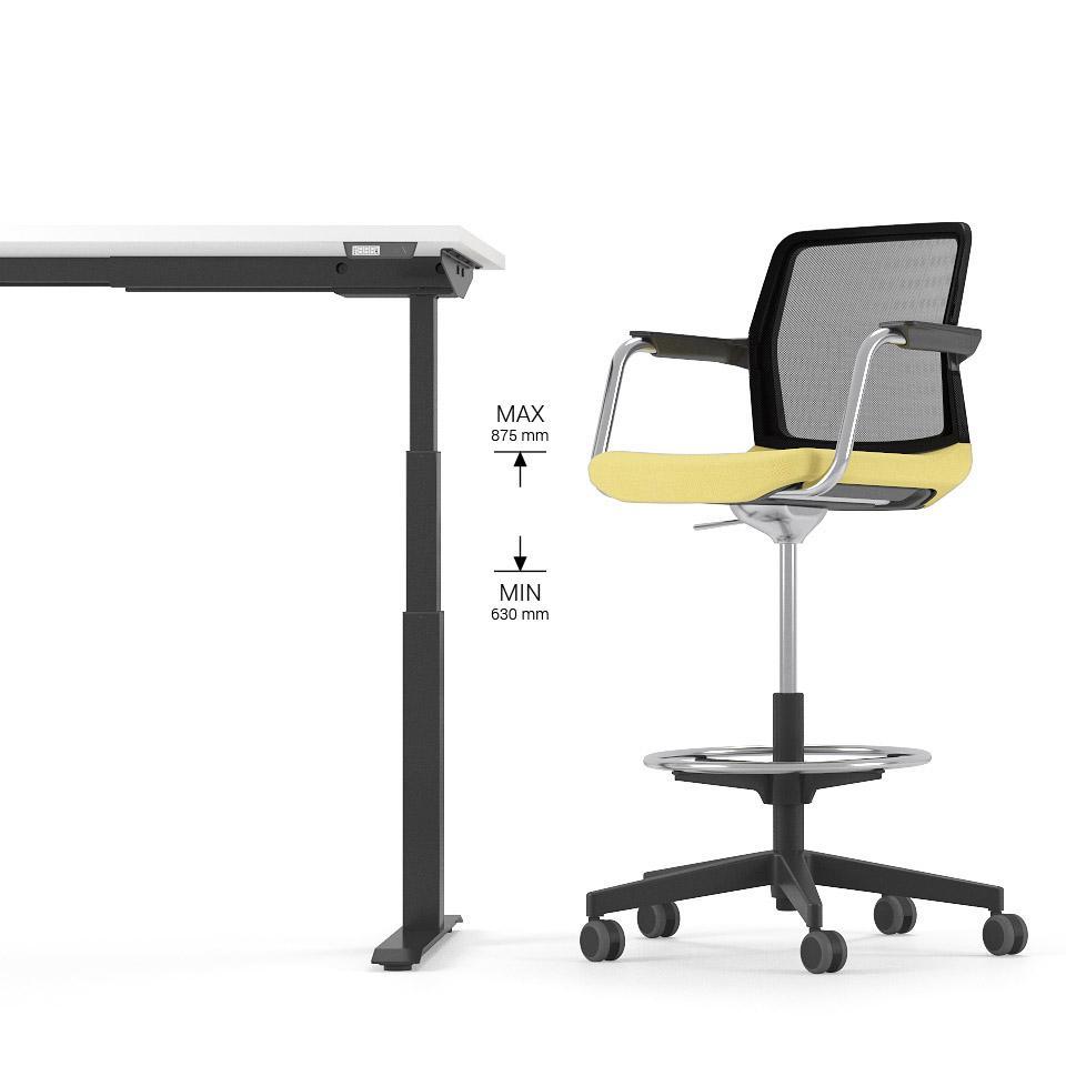 scaun si birou reglabil
