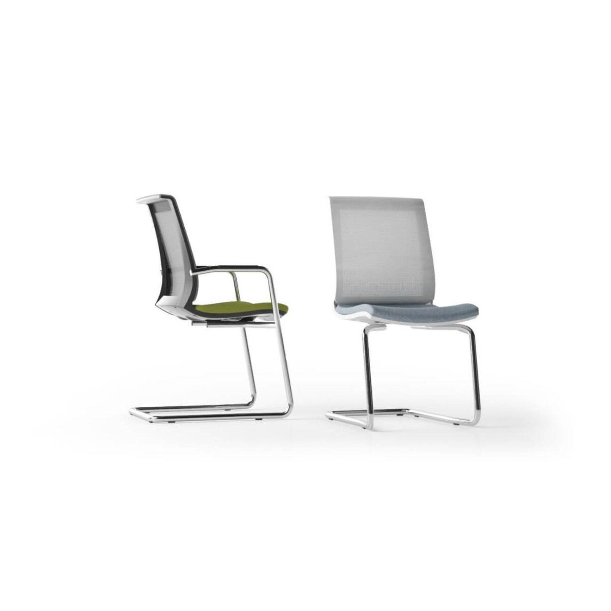 scaun vizitator mesh