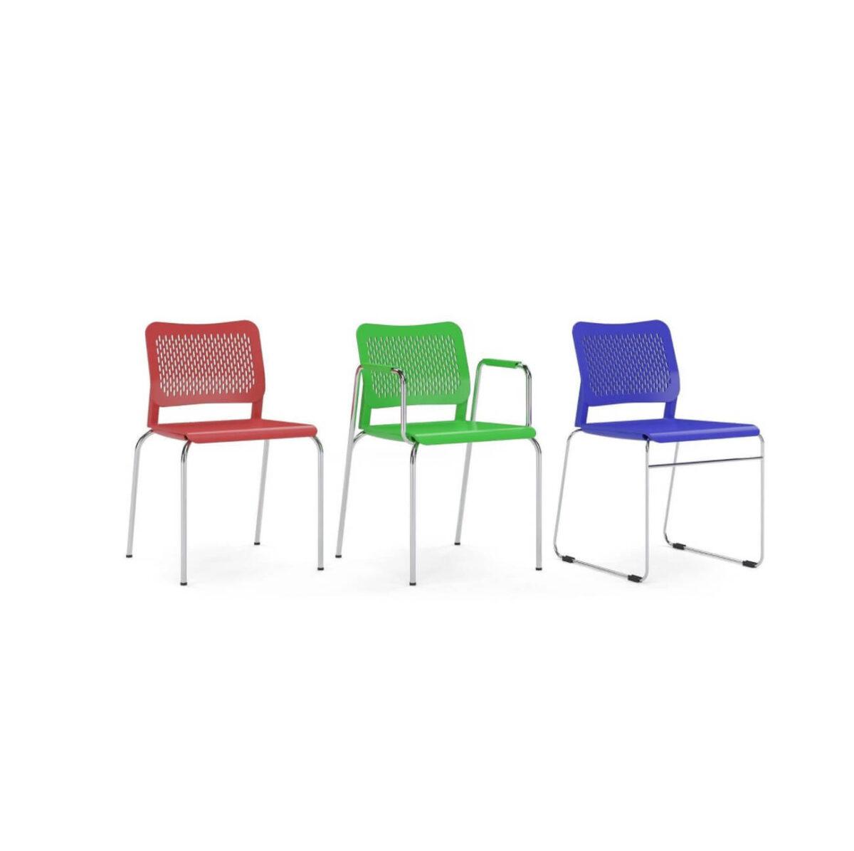 scaun vizitator mesh birou