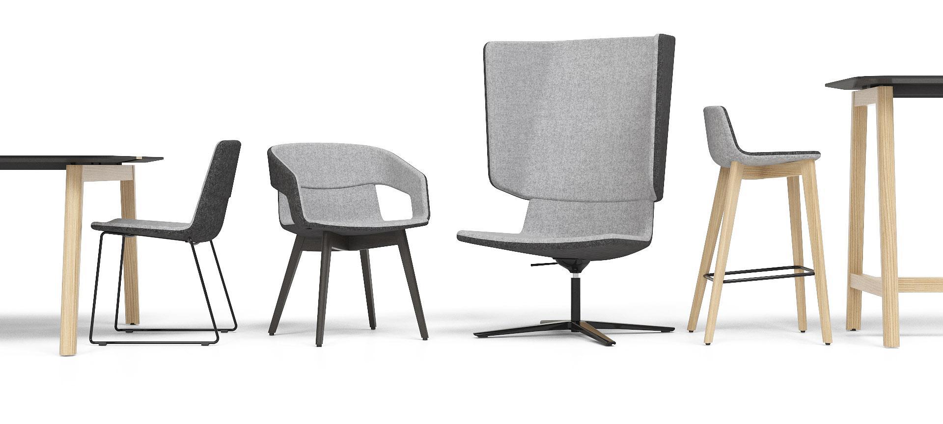 scaune design nordic