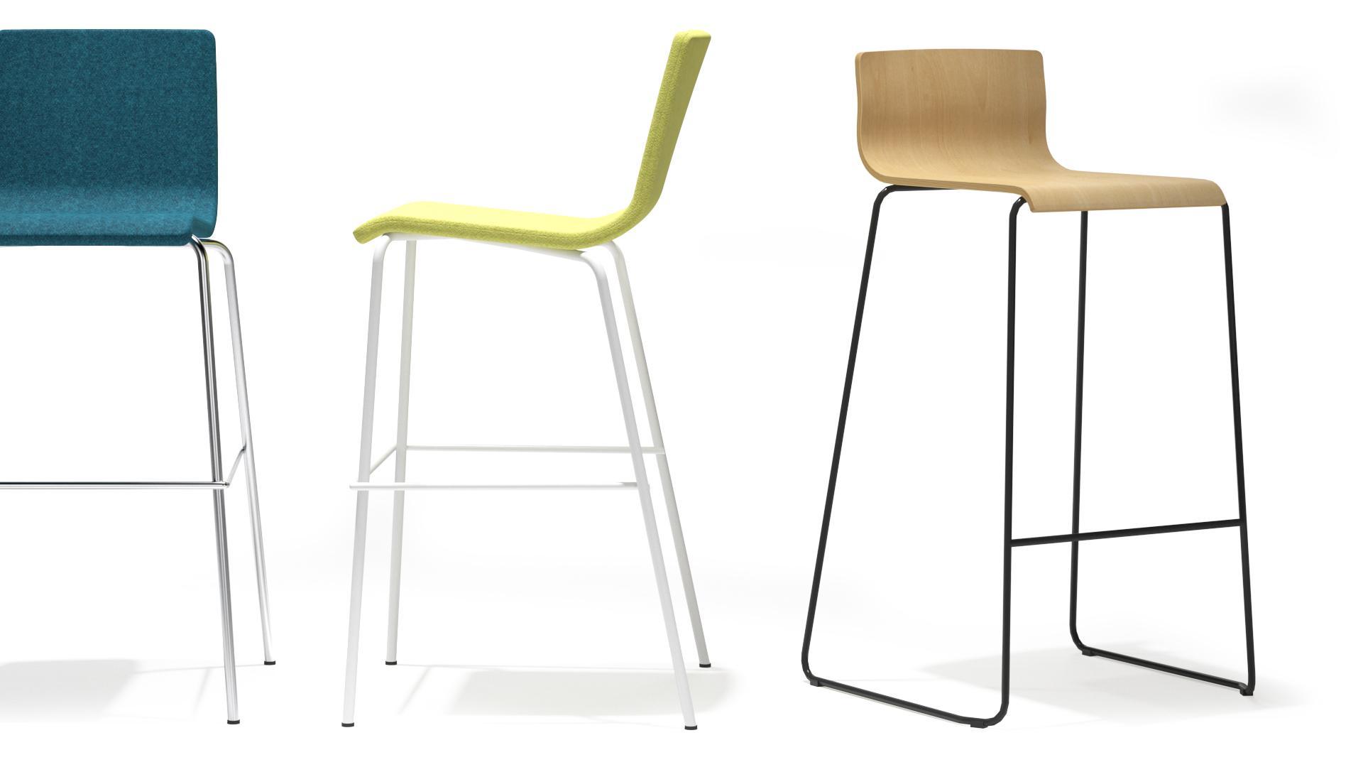 scaune inalte din placaj