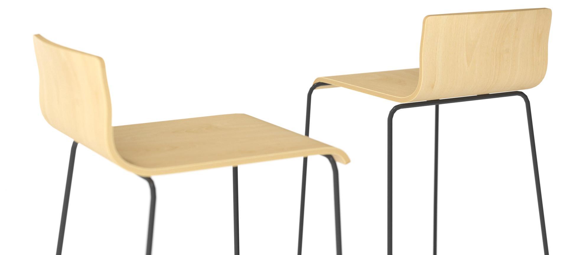 scaune placaj