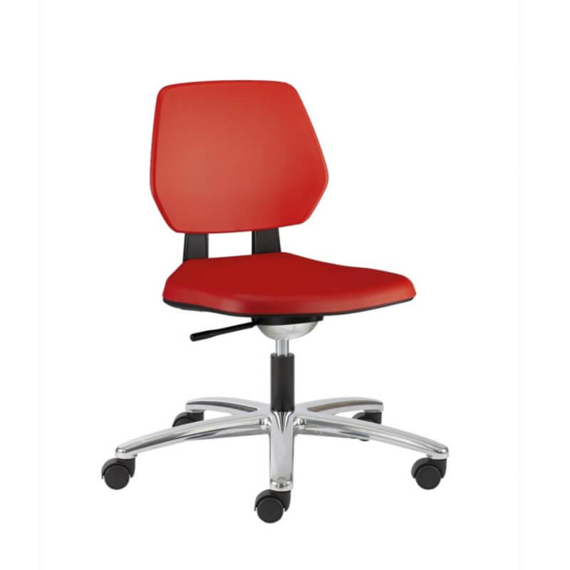 scaun rosu Material Poliuretan