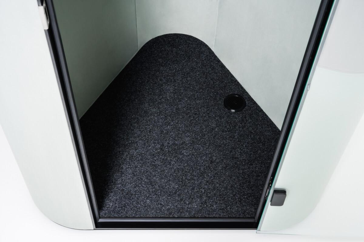 interior cabina acustica