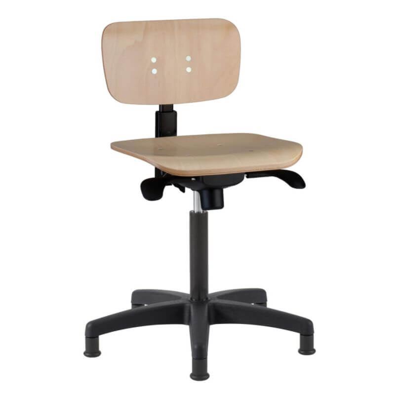 scaun laborator placaj
