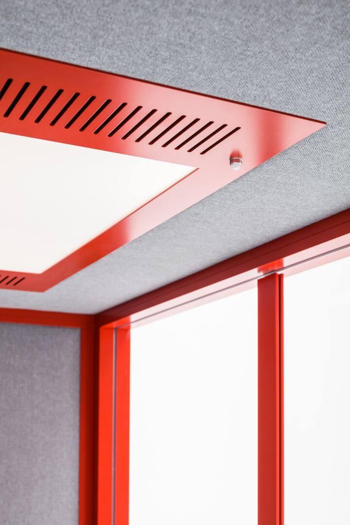 tavan cabina acustica